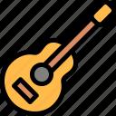 brazilian, carnival, guitar, music icon