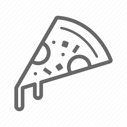 bakery, bread, breakfast, food, meal, pizza icon