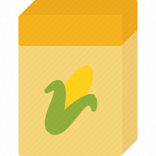 box, breakfast, celpo, corn, food icon