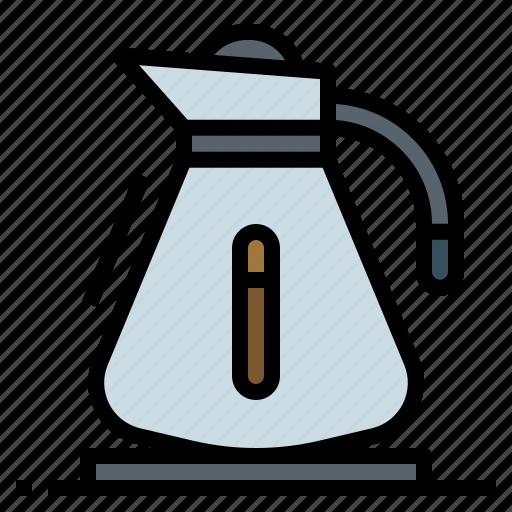 breakfast, cafe, coffee, machine, pot icon