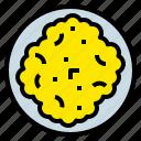 breakfast, egg, food, fried, scrambled icon