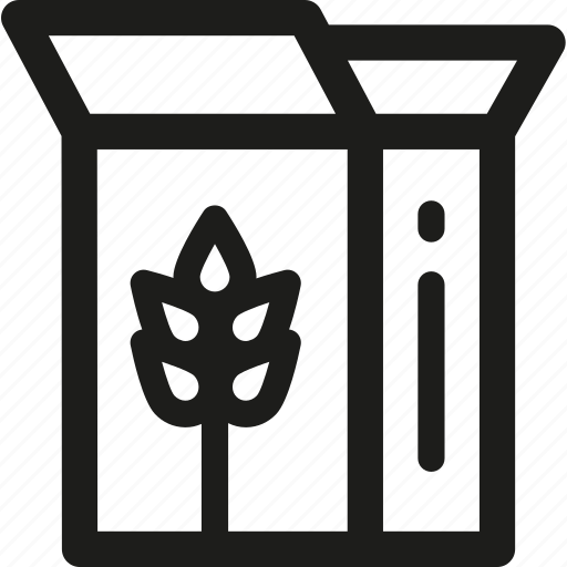 bakery, bread, breakfast, cereals, food, kitchen, wheat icon