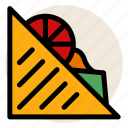 bread, bread slice, breakfast, cheese, sadwich, toast icon