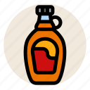 breakfast, maple syrup, pancake, pancake syrup, syrup icon