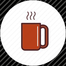breakfast, coffee, drink, hot, mug, tea icon
