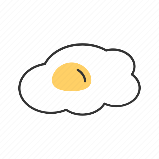breakfast, cooking, delicious, egg, food, tasty, yellow icon