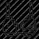 breastfeeding, nursing, bra icon