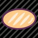 bakery, baking, bread, breakfast, sandwich, toast icon