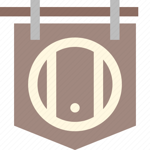 Barrel, beer, brewery, pub, shop, wine icon - Download on Iconfinder