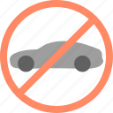 alcohol, avoid, ban, car, drive, no, parking icon