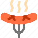 barbecue, bbq, food, grill, meat, sausages icon