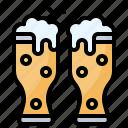 alcohol, beer, glass, mug, pint icon