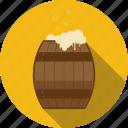alcohol, bar, barrel, beer, cask, drum, fass, pub, vat icon