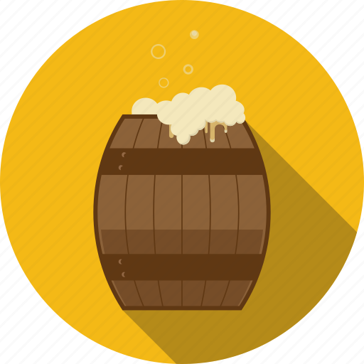 alcohol, bar, barrel, beer, cask, drum, fass, pub, vat icon