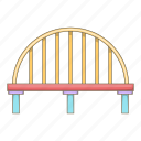 bridge, building, city, construction icon