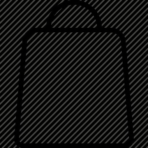 bag, buy, cart, checkout, handle, retail, shopping icon