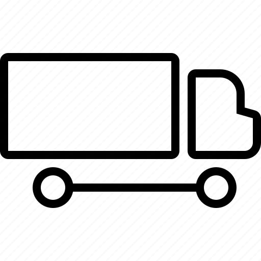 delivery, freight, shipment, shipping, truck, van, vehicle icon