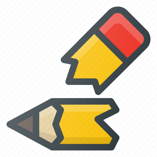 broken, pencil icon