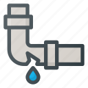 broken, pipeline icon