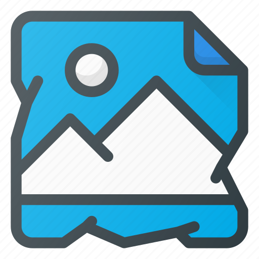 Crumpled, photo icon - Download on Iconfinder on Iconfinder
