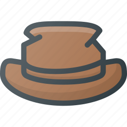 destroyed, hat icon