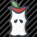 applebitebitten, eaten