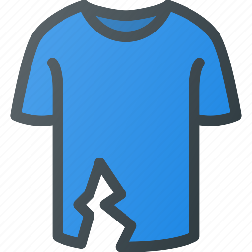 Ripped, tshirt icon - Download on Iconfinder on Iconfinder