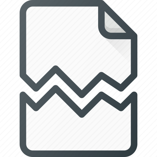 Crushed, paper, torn icon - Download on Iconfinder