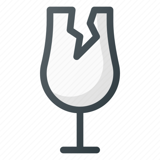 Broken, crushed, fragile, glass icon - Download on Iconfinder