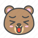 avatar, bear, cute, face, happy