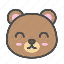 avatar, bear, cute, face, smile