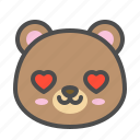avatar, bear, cute, face, love