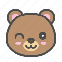 avatar, bear, cute, face