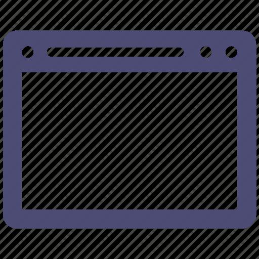 browser, internet, website icon