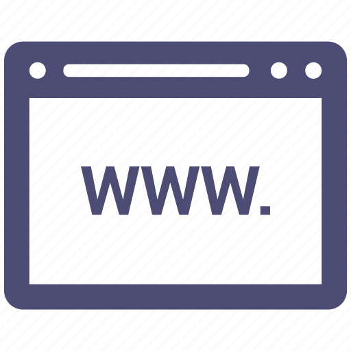 browser, computing, interface, internet, www icon