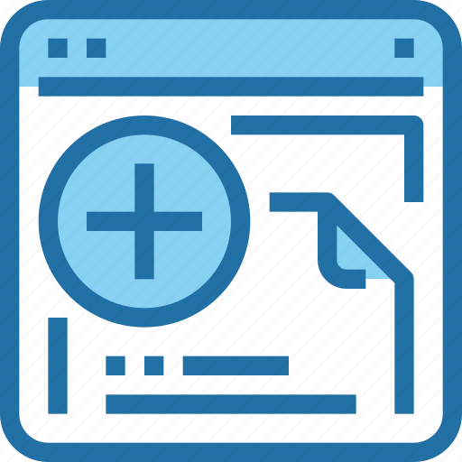 browser, document, interface, ui, web icon