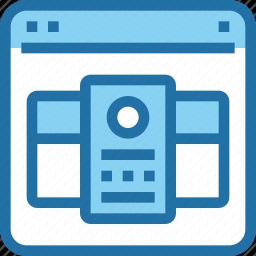 browser, interface, layout, plan, price, ui, web icon