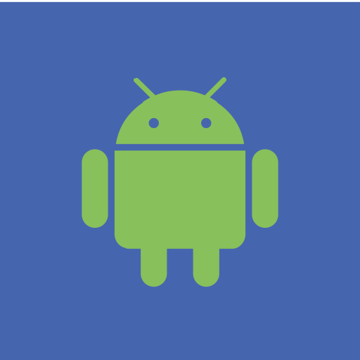 android, browser, media, network, os icon