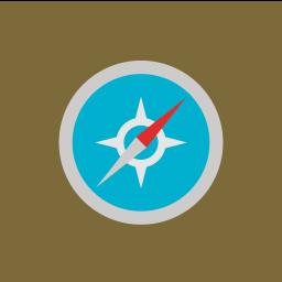browser, internet, network, safari icon