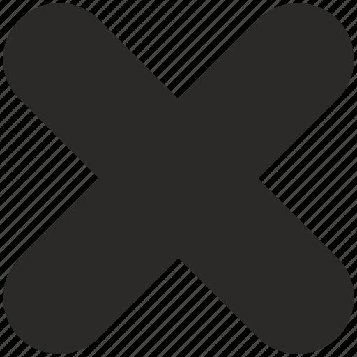 ban, close, cross, delete, stop icon