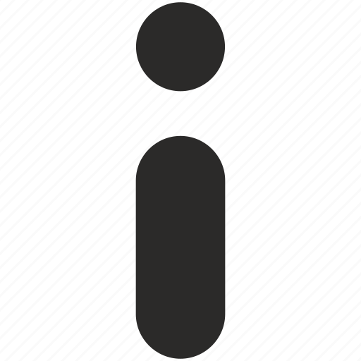 data, help, i, info, notice icon