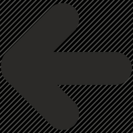 Arrow, left, navigation icon - Download on Iconfinder