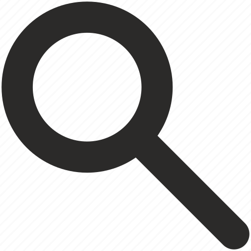 find, loop, magnifier icon