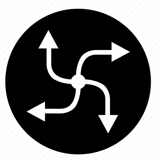 climate, control, round, ventilation icon