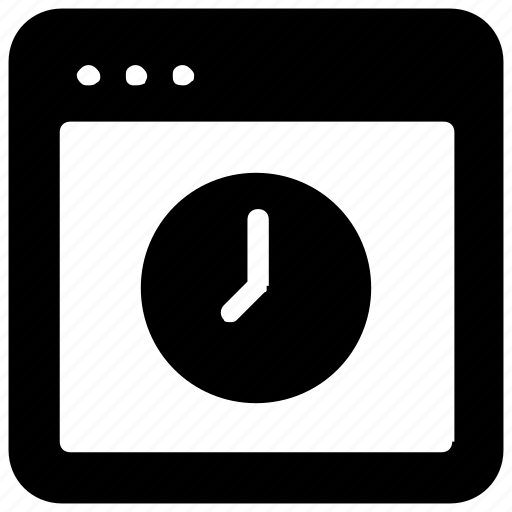 clock, website icon