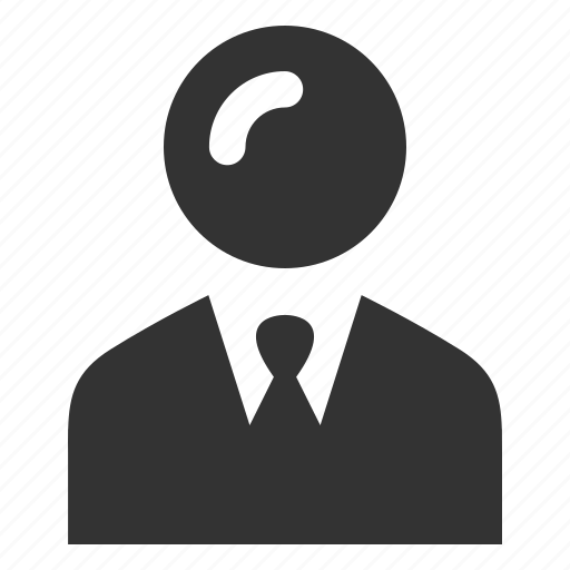 account, businessman, man, person, profile, tie, user icon