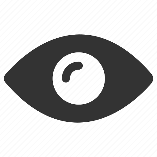 eye, find, look, privacy, view, visibility icon