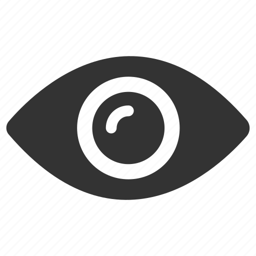 eye, look, privacy, search, sight, view, visibility icon