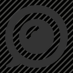 bubble, chat, conversation, message, sms, talk icon