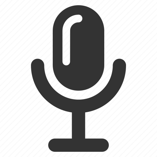 mic, microphone, record, recording, voice, voice control, voice record icon